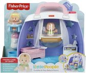 Fisher Price Little People - Babies Deluxe Speelset kinderkamer