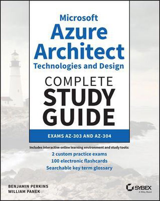 Boek cover Microsoft Azure Architect Technologies and Design Complete Study Guide van Benjamin Perkins (Paperback)