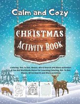 Calm and Cozy Christmas Activity book