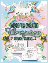 How to Draw Unicorn for Kids Ages 9-12.