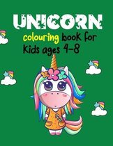 Unicorn Colouring Book For Kids Ages 4-8
