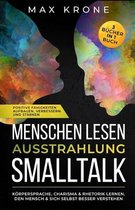 Menschen lesen Ausstrahlung Smalltalk