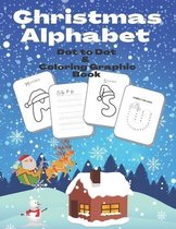 Christmas Alphabet Dot to Dot & Coloring Graphic Book