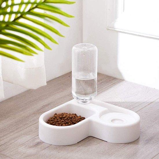 Voerbak en waterbak kat   automatisch water vullend