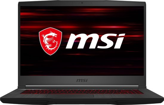 MSI GF65 Thin 9SEXR-800BE - Gaming Laptop - 15.6 Inch - Azerty