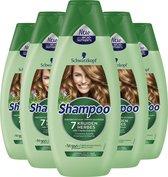 Schwarzkopf 7 Kruiden Shampoo 5x 400ml - Voordeelverpakking