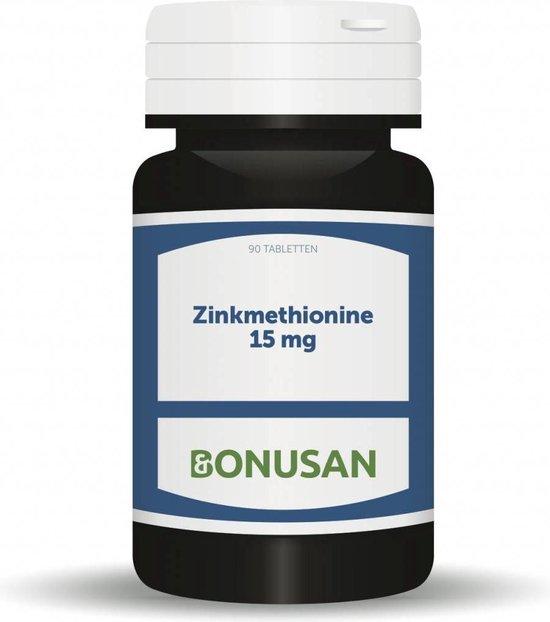Bonusan Zinkmethionine 15mg capsules 90 capsules