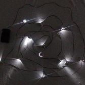 Strobo / Flashing lichtslinger met 12 lampjes en spooky geluiden - Halloween decoratievoorwerp
