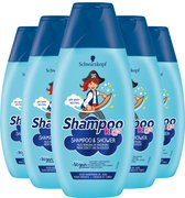 Schwarzkopf Kids Piraat Shampoo 5x 250ml - Voordeelverpakking