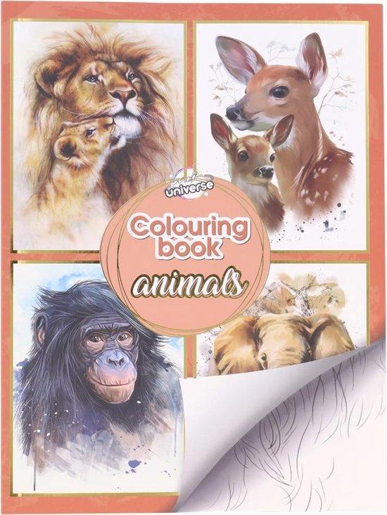 Afbeelding van Kleurboek Voor Volwassenen - Kleuren - Volwassenen - Dieren