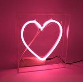 Locomocean Neon Box Heart