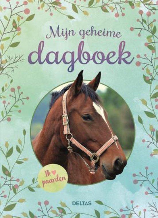Boek cover Deltas mijn geheime dagboek paarden van  (Onbekend)