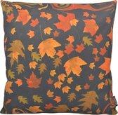 Falling Leaves Kussenhoes | Katoen / Linnen | 45 x 45 cm