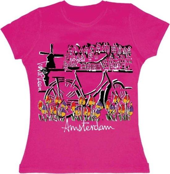 T-shirts ladies - HV Bike tulip