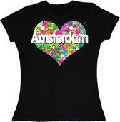 T-shirts ladies - Verf hart