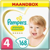 Pampers Premium Protection Luiers - Maat 4 (9-14 k