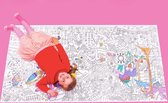 WONDR Giant Coloring Poster (185 x 92,5 cm) Kleurplaat XXL