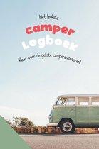 Camperboek - logboek - reisdagboek - ervaringen en budget bijhouden - handig formaat - cadeau - mobilhome - camperhacks - tips & tricks - kamperen