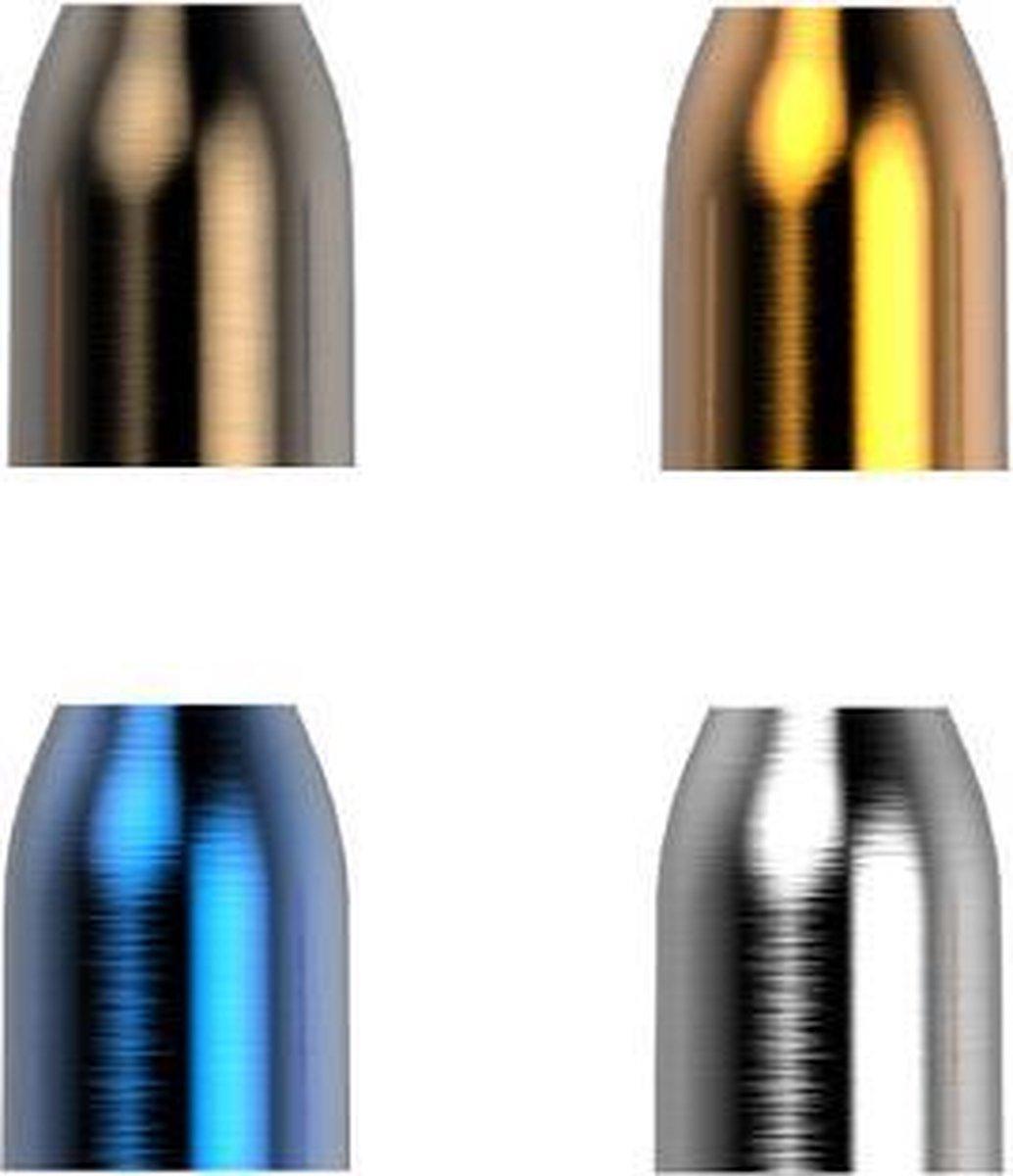 L-Style DMC Metal Champagne Rings - Navy