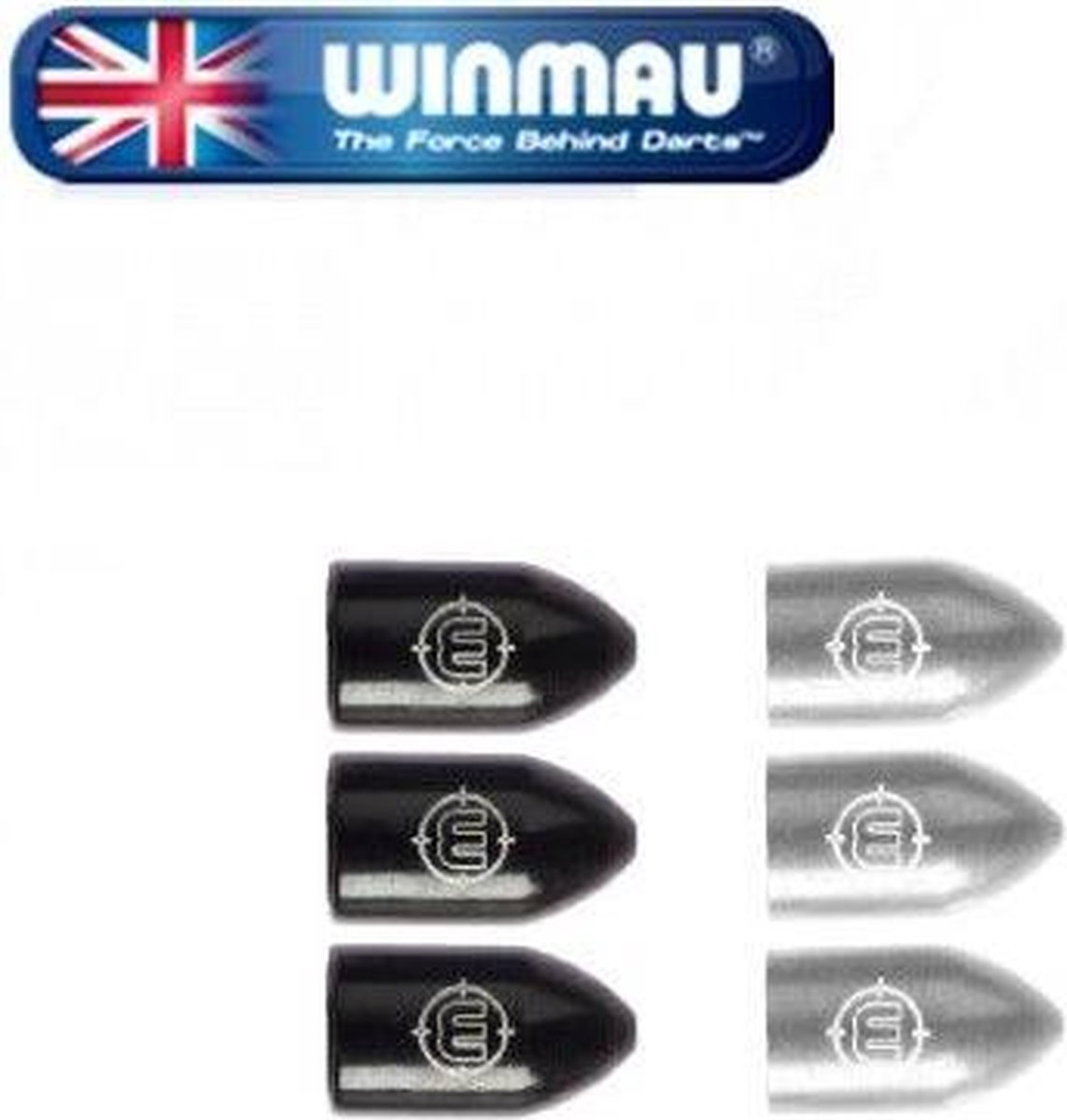Winmau Whizlock Caps - Zilver