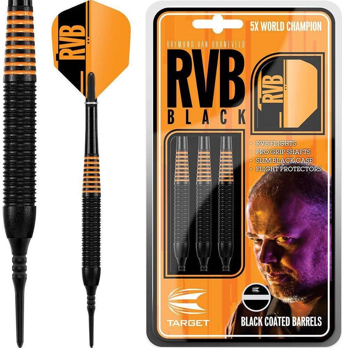 Raymond van Barneveld RVB Black Brass Soft Tip - 19 Gram