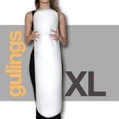 Rolkussen - Guling XL - met sloop - lichtgrijs