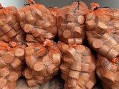 Hardhout briketten voor open haard , houtkachel , kachel en vuurkorf - 75 stuks 10kg