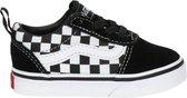 Vans TD Ward Slip-On Checkered Sneakers - Black/True White - Maat 21