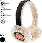 Avanca Bluetooth Audio Oorwarmers zwart dames