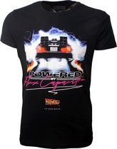 Back To The Future Flux Capacitor T-Shirt Zwart