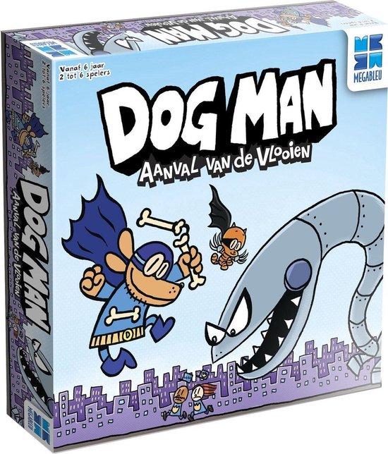 Dog Man - Het familiespel - Aanval van de VLOOIEN - Nederlandstalige uitgave