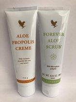 Voordeelpakket - Forever Living Aloe Propolis creme en Forever Living Aloe scrub