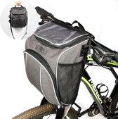 Levevis: fietstas en schoudertas  met smartphonehouder - Mobielhouder fiets - stuurtas enkel - frame - elektrische fietsen -  schoudertas -  -zadel  - 6,4 liter - 6,5 inch