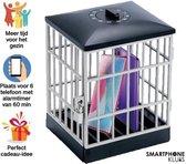 CADEAUTIP- Smartphone kluis - Telefoon kluis - Telefoon Gevangenis - Phone Jail - Opbergplek voor Mobiel - Smartphoneverslaving - Sociale Media Verslaving - Stimuleer Interactie - Telefoonhouder met Timer en Slot - Nieuwste Design - Zwart