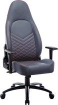 Bol.com-Milo Racing Gamestoel - Verstelbare Bureaustoel - Ergonomische Bureaustoel - Gamingstoel - Racestoelen - Gamestoelen voor volwassenen - Grijs-aanbieding