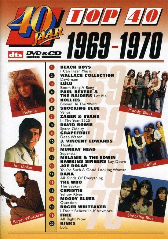 Cover van de film '40 Jaar Top 40 - 1969/70'