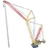 Liebher LR 11000 hijskraan -  Technisch bouwpakket van Toy Brick Lighting - 4002 bouwstenen -rups machine - kraan - uniek product