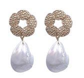 Viva Jewellery schelp oorbel