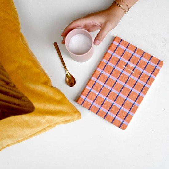 A-journal Dagboek - Daily Journal - 5 minuten dagboek - Oranje Ruit