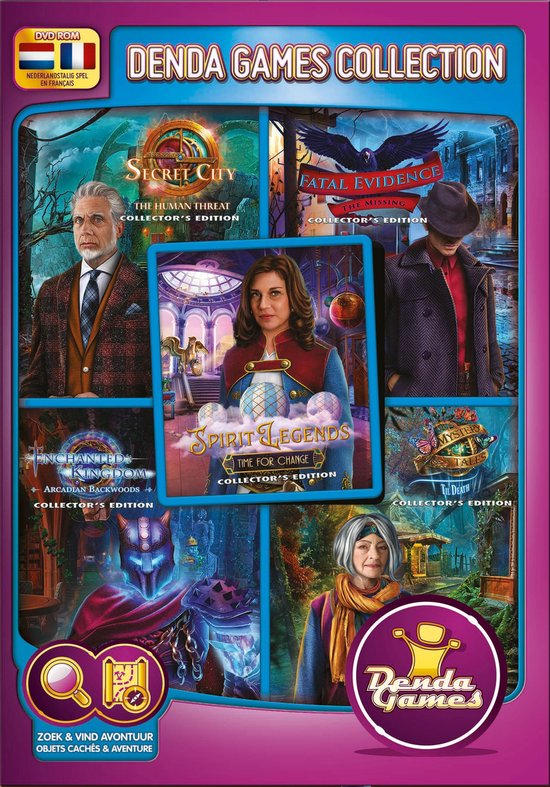 Collector's Edition 2020 - 5 brand new games - Denda Game 259