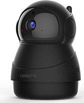 Orretti® X8 1080P FHD WiFi IP Beveiligingscamera met Bewegingsdetectie - Bewakingscamera - Bewegingsdetectie - Zwart