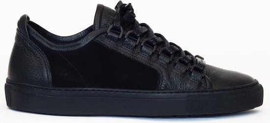 Nozams black original leather suede silhouette