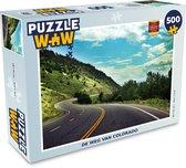 Puzzel Wegen 500 stukjes - De weg van Colorado