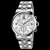 Skmei Silver White Steel - Heren Horloge