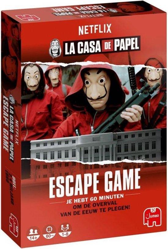Jumbo La Casa de Papel Escape Game - Escape room Bordspel