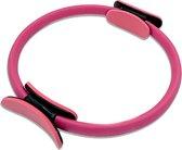 Pilates Ring Roze - Buikspiertrainer - Heup Trainer - Fitness Ring - Yoga Ring - Sport Ring - Thuis Sporten - Train je Armen en benen - Fitnessmaterialen - Fitness Artikelen - 38cm
