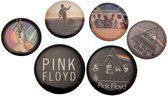 Pink Floyd Button Badge Set (Multi-colour)