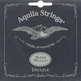 Aquila Sopraan Ukelele Snaren - SUPER NYLGUT - High G - 100U - Wit