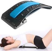 Backstretcher Voor Rugklachten - Met Zachte Massage Pads - EarKings Verstelbare Rugstretcher