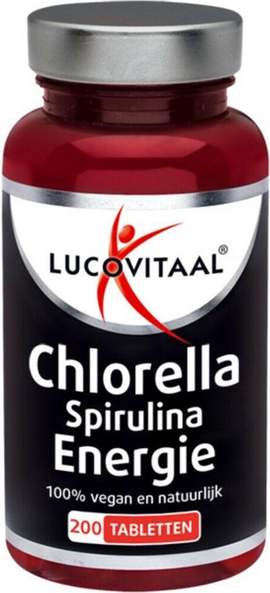 Lucovitaal Chlorella Spirulina Voedingssupplement - 200 tabletten